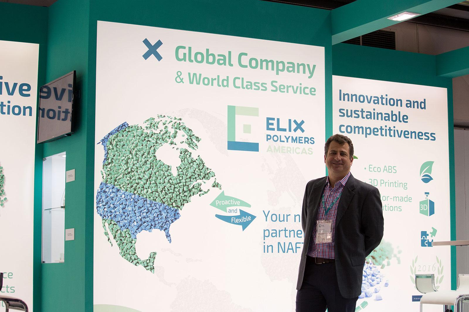 Plastimagen 2019 ELIX Polymers new materials technologies Booth 1363