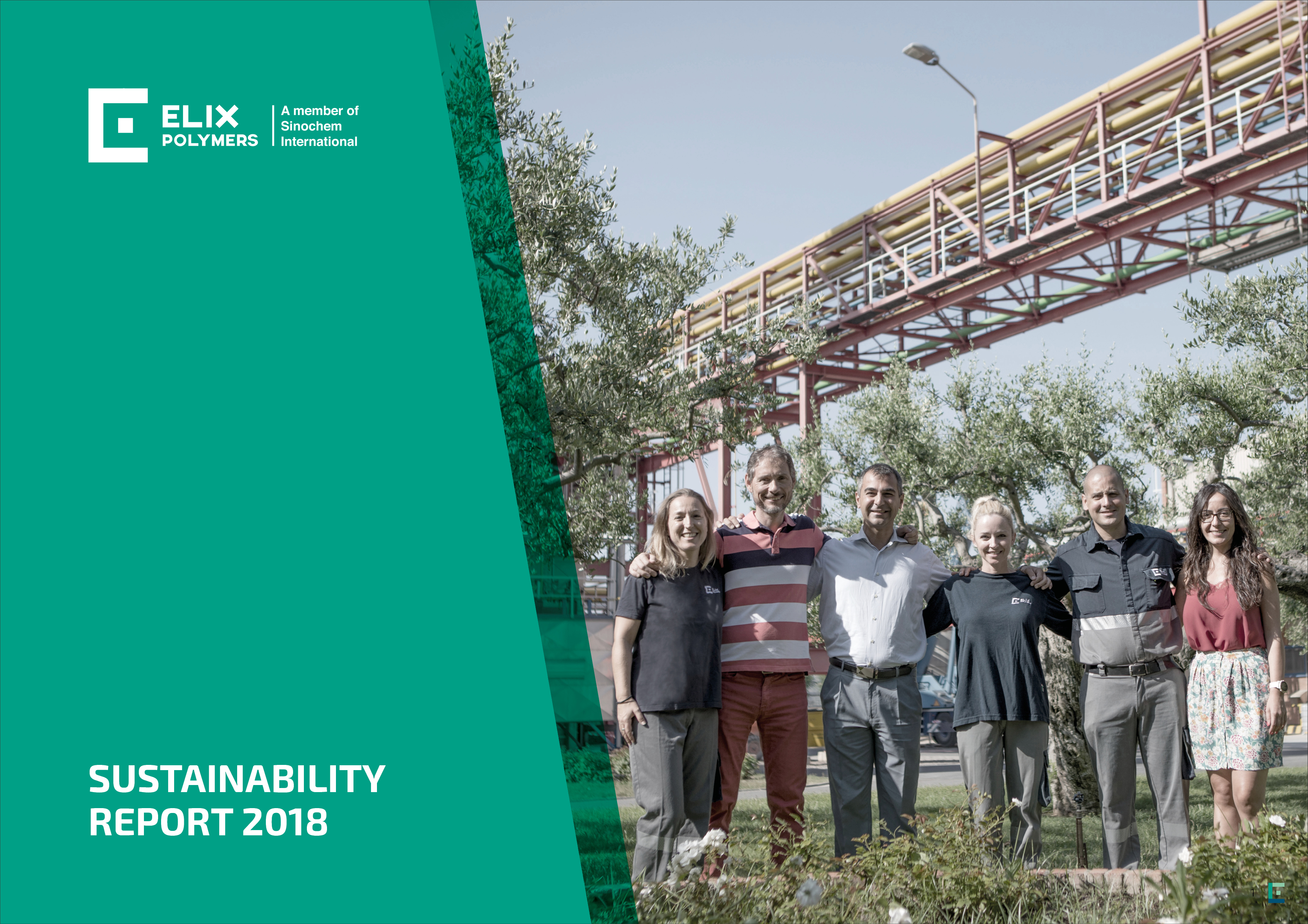 ELIX Polymers publishes its 2018 Sustainability Report