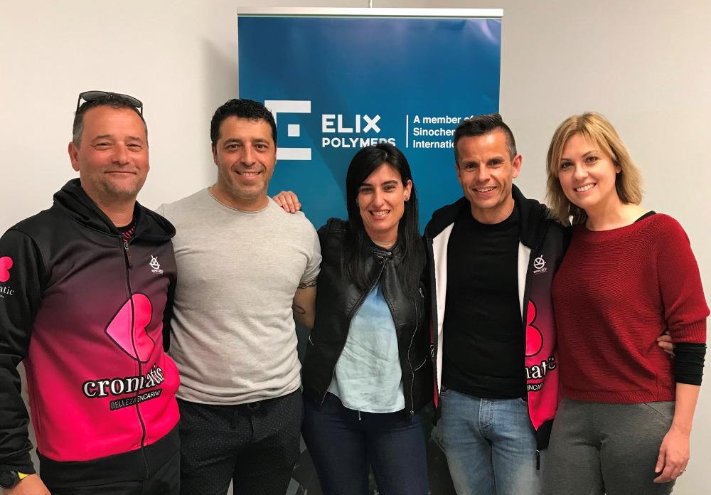 ELIX Polymers comprometida fundación CorAvant proyecto social Cromatic running