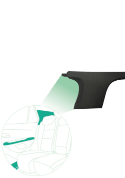 ELIX ABS con reducción de brillo para aplicaciones de automoción