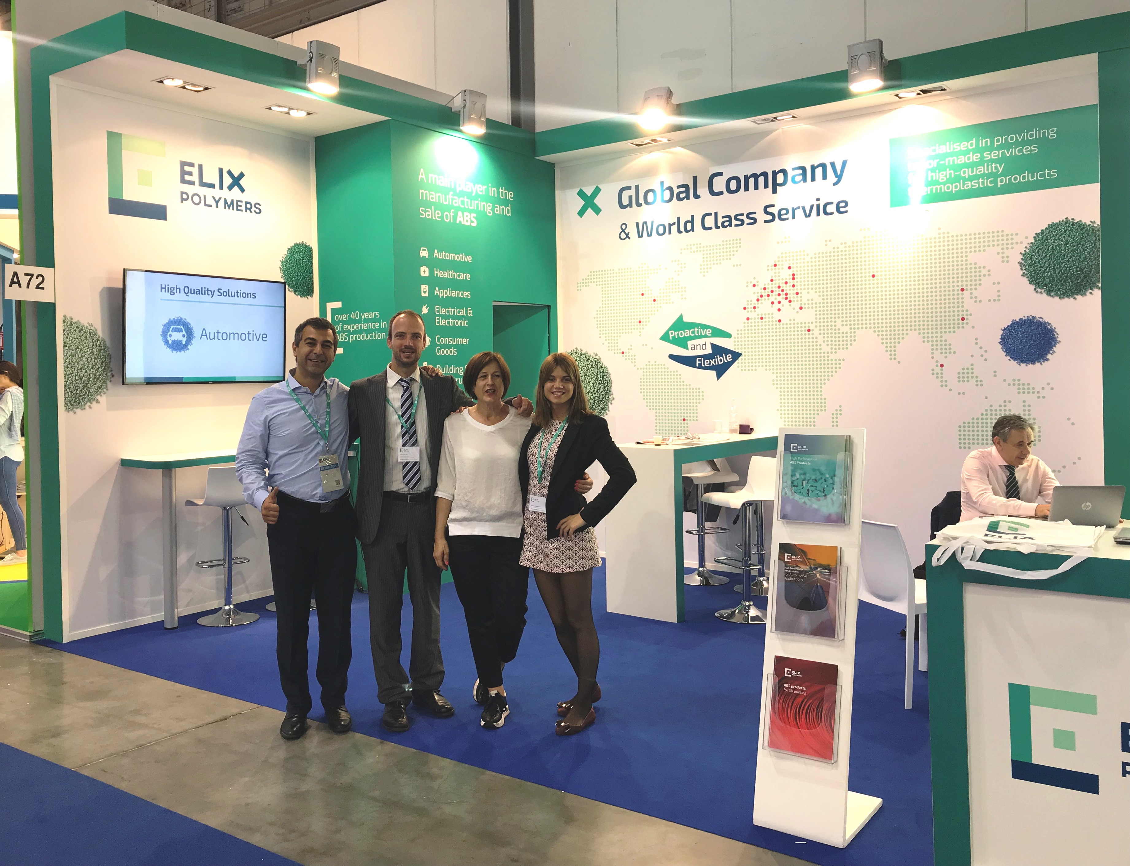 ELIX Polymers PLAST Show Milan