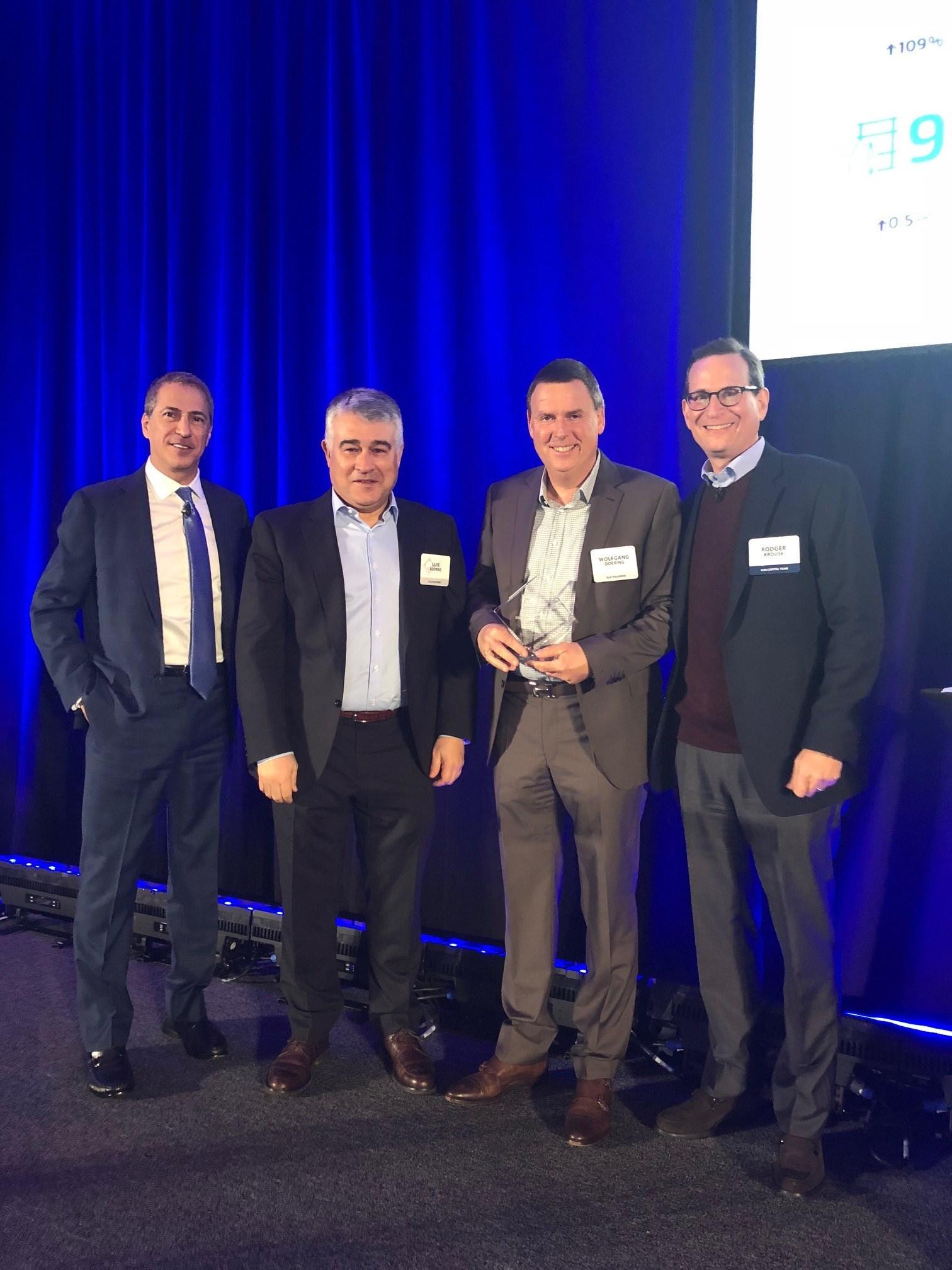 "ELIX Polymers received the ""2017 ESG EXCELLENCE AWARD"" (Environmental, Social Responsibility & Governance)"