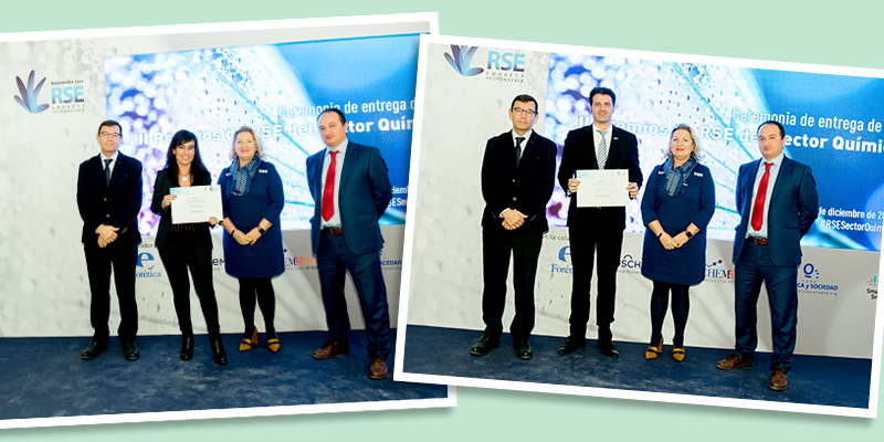 ELIX Polymers Climate Export prizes Second CSR Awards Spanish chemical sector